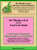 Sir Thanks-a-Lot and It's Cool to Be Kind - Printable Activities