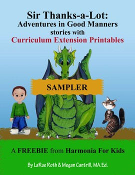 SAMPLER: Sir Thanks-a-Lot Adventures in Good Manners Character Education Series