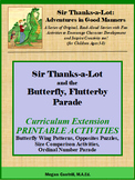 Sir Thanks-a-Lot and the Butterfly, Flutterby Parade - Pri
