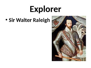 Sir Walter Raleigh Powerpoint