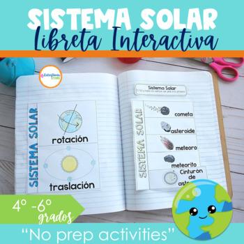 Sistema Solar Libreta Interactiva
