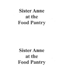 Sister Anne at the Food Pantry