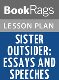 Sister Outsider: Essays and Speeches Lesson Plans
