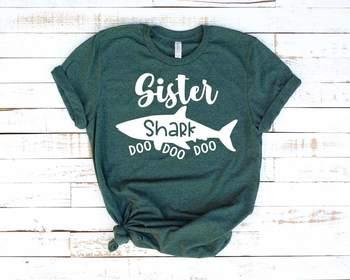 37523594 ... Sister Shark SVG Doo Doo Doo Sea World Doo Baby Family funny Best  Birthday 1304S