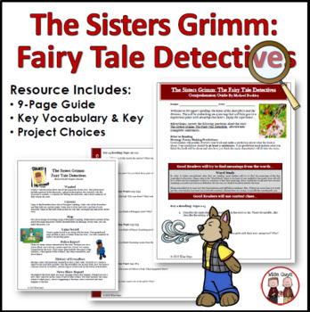 The Sisters Grimm Fairy Tale Detectives Novel Unit
