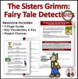 The Sisters Grimm Fairy Tale Detectives Novel Unit