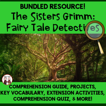 The Sisters Grimm Reading Novel Activities Bundle