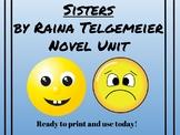Sisters by Raina Telgemeier Common Core Unit