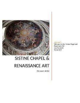 Sistine Chapel webquest
