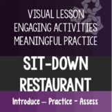 Sit Down Restaurant Experience Lesson Life Skills Special Ed Distance Learning