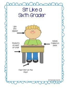 Sit Like a Kindergartener