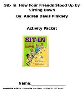 Sit in by Andrea Pinkney Packet