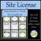 Site License - Complete Set of Daily Math for 3rd Grade