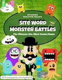 Site Word ELA Center (1st Grade) Monster Site Word Battle Game SALE!!