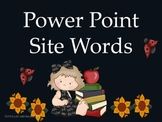 Site Word PowerPoint Presentation