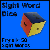 Fry's 1st 50 Sight Word Dice Games