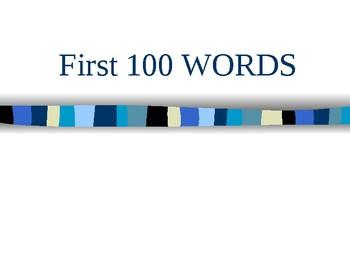 Site Words 1-100
