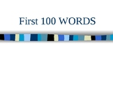 Site Words 1-100