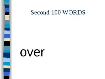 Site Words 101-200