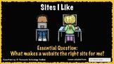 Sites I Like- Common Sense Media Digital Citizenship PowerPoint