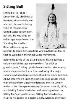 Sitting Bull Handout
