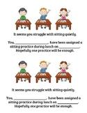 Sitting Practice Referral Sheet