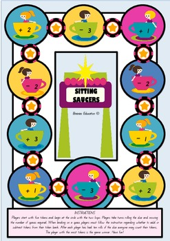 Sitting Saucer Counting Game