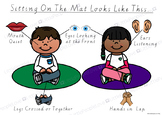 Sitting on the Mat - Own Mats Classroom Poster