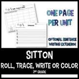 Sitton Roll and Write Activities - 2nd Grade