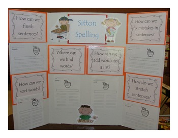 Sitton Spelling Companion - Essential Question Display
