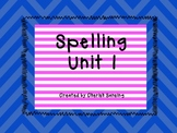 Sitton Spelling Unit 1