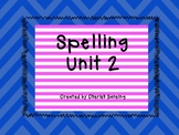 Sitton Spelling Unit 2 Printable