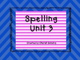 Sitton Spelling Unit 3 Printable