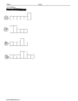 Sitton Spelling (Unit 5) - 3rd Grade - Word Test Modification