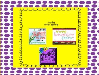 Sitton Spelling Unit 6 Printable