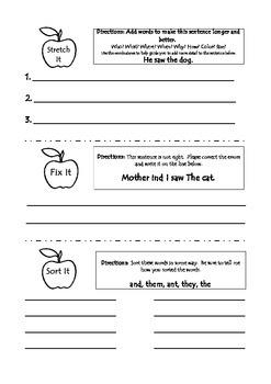Sitton's Apple Activities Unit 1