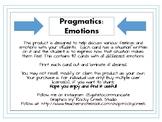 Pragmatics: Emotions