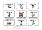 Situations françaises : Mime des métiers