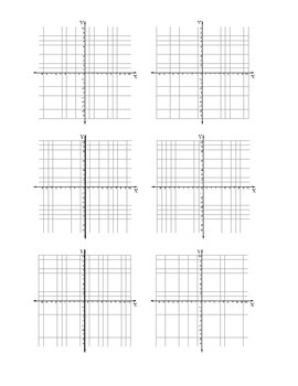 Six 10 by 10 graphs