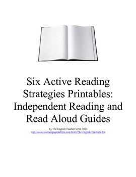 Six Active Reading Strategies Printable Guides and Questions