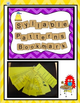 Six Common Syllables Bookmark