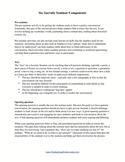 Six Components of Socratic Seminar
