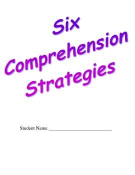 Six Comprehension Activities