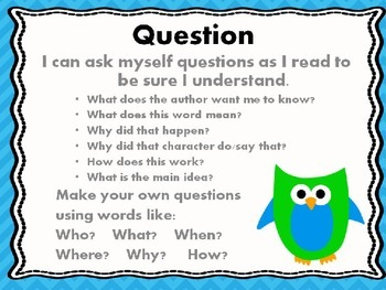 Six Comprehension Strategies