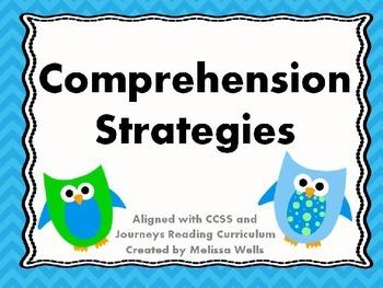 Six Comprehension Strategies
