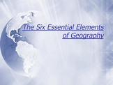 Six Elements of Geography