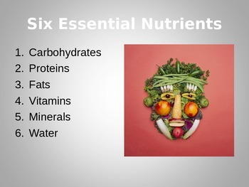 Nutrition: Six Essential Nutrients PowerPoint an Introduction