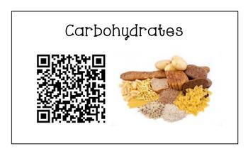 Six Essential Nutrients - Puzzle Introduction Activity with QR Codes [BUNDLE]