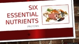 Six Essential Nutrients proteins PowerPoint