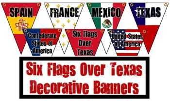 Six Flags Over Texas Banner